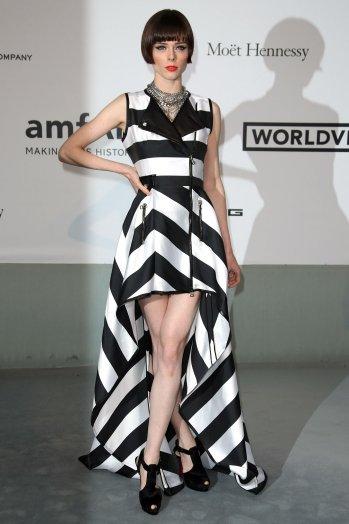 Tại một sự kiện thuộc khuôn khổ Liên hoan phim Cannes (tháng 5/2014), Rocha chọn bộ váy sọc đen trắng của thương hiệu Pháp Maison IRFE do Olga Sorokina, cũng là một người bạn thân thiết của cô, thiết kế.