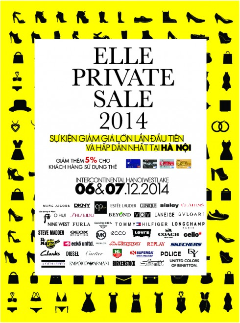 ELLE Private sale Hanoi
