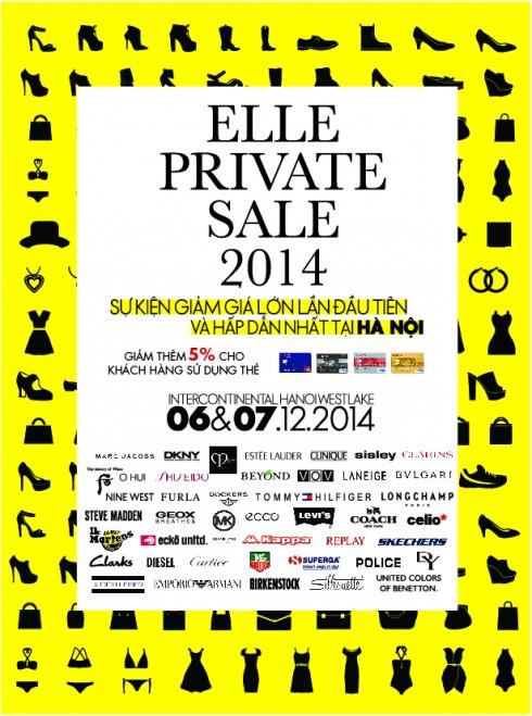 ELLE Private sale Hanoi