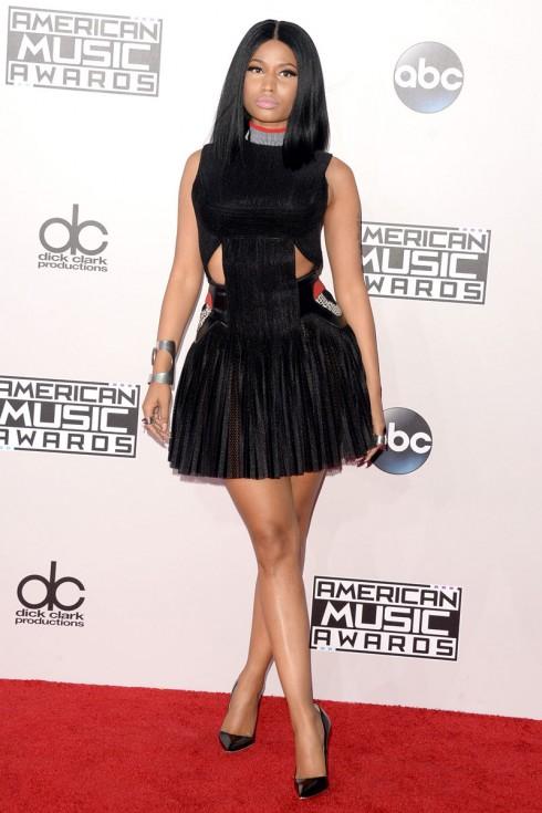 Nicki Minaj diện đầm của Alexander Wang