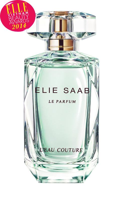 <strong>1. ELIE SAAB L'EAU COUTURE</strong> <br> L'eau Couture là dòng nước hoa mới nhất trong BST nước hoa Le Parfum của nhà thiết kế Elie Saab. Vẫn là dòng nước hoa mang phong cách Haute Couture, L'eau Couture là một giai điệu hoàn hảo giữa vẻ ngoài sang trọng , tinh tế của những bộ cánh thời trang với sự nhẹ nhàng, tươi mát. Hương hoa nhẹ nhàng kết hợp với cam Bergamot tươi mát, kết thúc với vani ngọt ngào quyến rũ giúp hương thơm nhẹ nhàng lưu giữ lên làn da.<br> Giá: 1.950.000 VNĐ/50ml