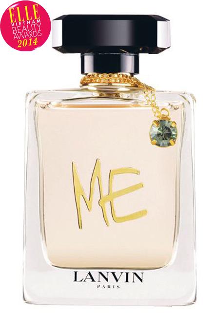 <strong>8. LANVIN ME</strong><br> Lanvin Me là câu chuyện về một người phụ nữ mãnh liệt, quyết đoán, độc lập, gợi cảm, hay thay đổi và tinh tế. Sáng tạo này được chế tác cẩn thận như một viên ngọc Lanvin mới, được thiết kế như một phụ kiện có giá trị để tô điểm cho cửa hàng và để trưng bày. Hương thơm thể hiện triết lý này là một hợp âm của hương hoa sang trọng với gỗ cam thảo đen, quả việt quất, với hương đầu trái cây, thú vị với hương giữa (bao gồm cả hoa huệ) và hương cuối hấp dẫn.<br> Giá: 1.475.000 VNĐ/50ml