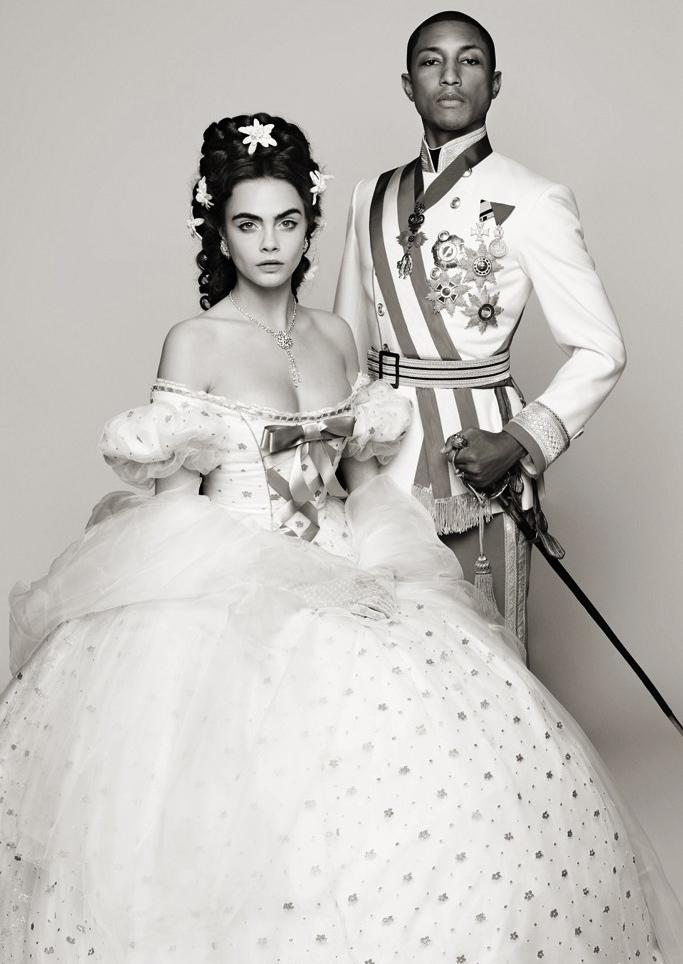 Cara Delevingne và Pharrell Williams trong teaser phim ngắn mới của Chanel