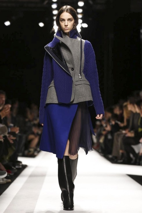 Sacai Ready To Wear Fall Winter 2014 Paris