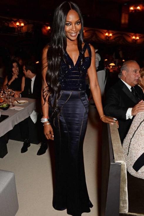 Siêu mẫu kì cựu Naomi Campbell