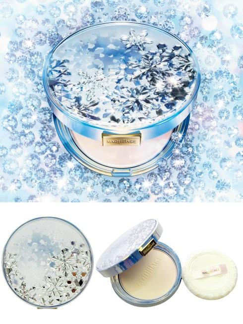 Shiseido ra mắt phấn dưỡng da Maquillage Snow Beauty mới