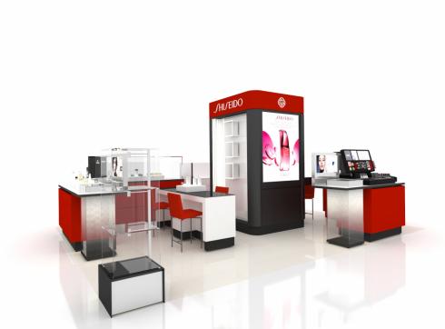 ellevn Shiseido crescent mall