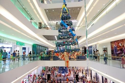 Crescent Mall nhộn nhịp chào đón Noel