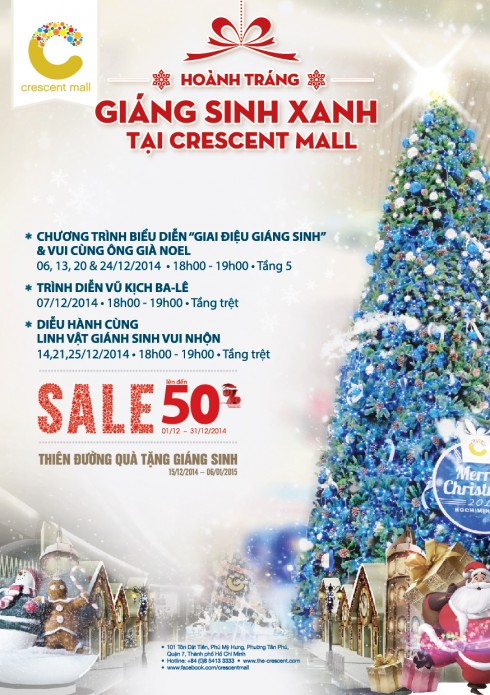 ellevn crescent mall giang sinh xanh1