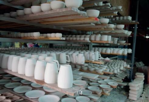 Khung cảnh và không khí tại xưởng gốm (Thủ Đức, Sài Gòn) .