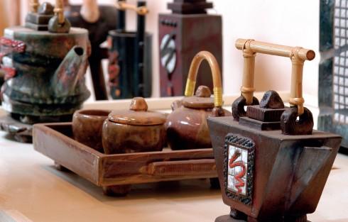 Tính độc bản là một hướng đi riêng trong chế tác gốm của Khưu Đức.