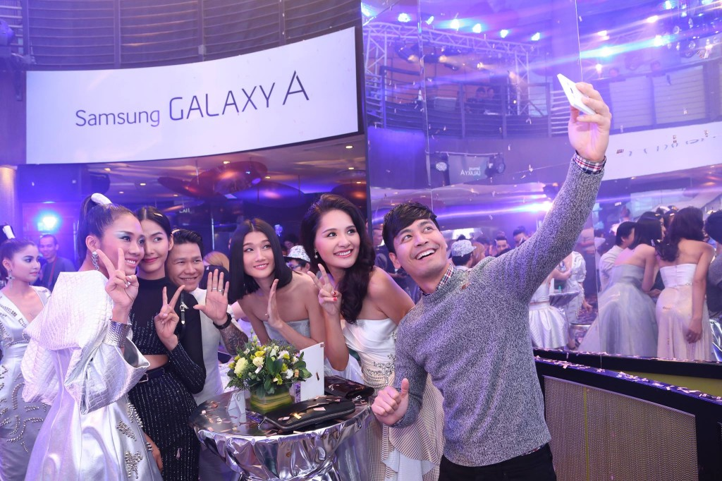 Galaxy A launch2