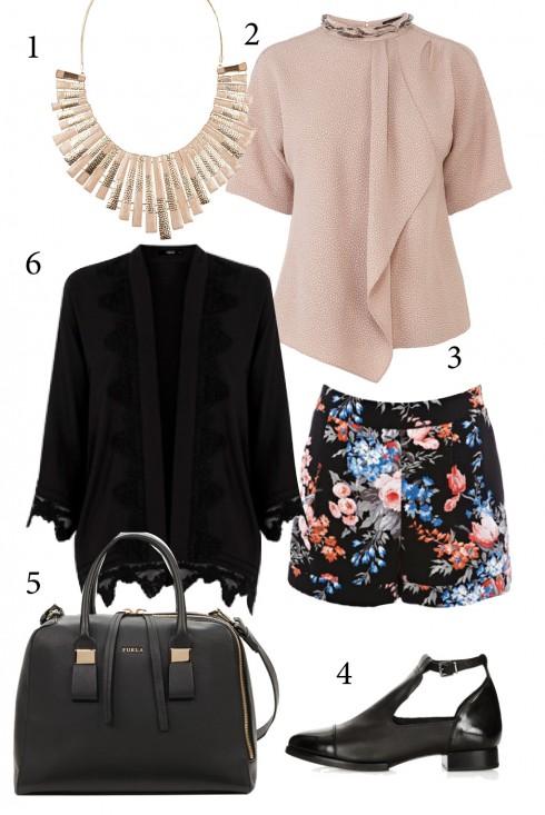 Chủ nhật: Kimono trơn màu cho phong cách thanh lịch cuối tuần<br/>1. ALDO 2. KAREN MILLEN 3. WAREHOUSE 4. TOPSHOP 5. FURLA 6. OASIS