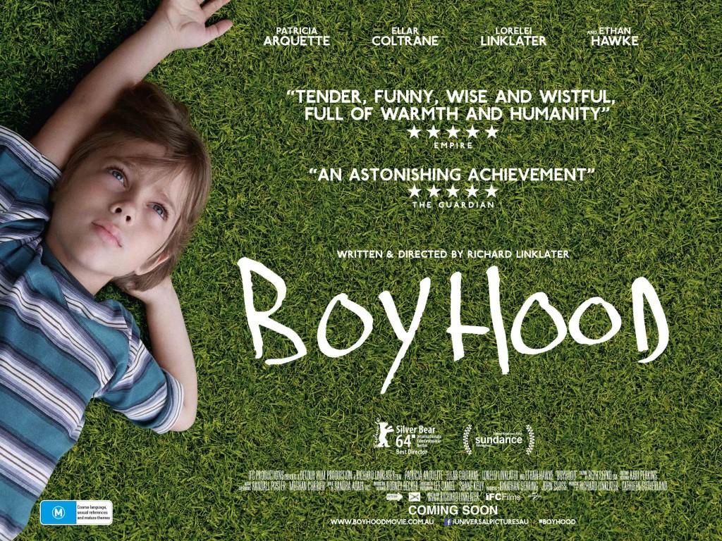 Boyhood nhận được 5 đề cử và thắng 3 giải Quả cầu vàng 2015