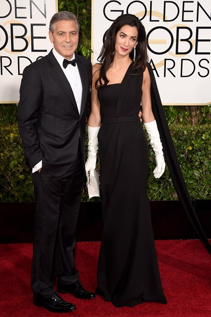 Vợ chồng George Clooney & Amail Alamuddin