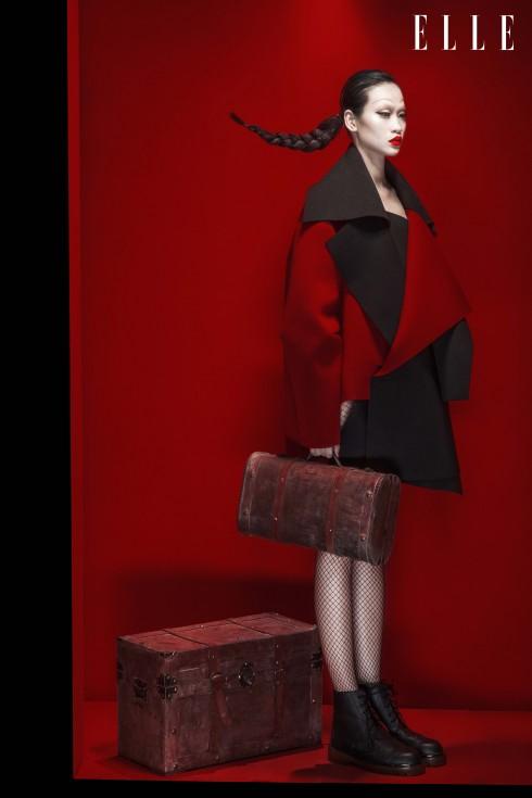 Áo khoác, giày Trương Thanh Long