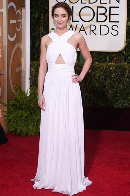 Emily Blunt trong bộ váy Michael Kors