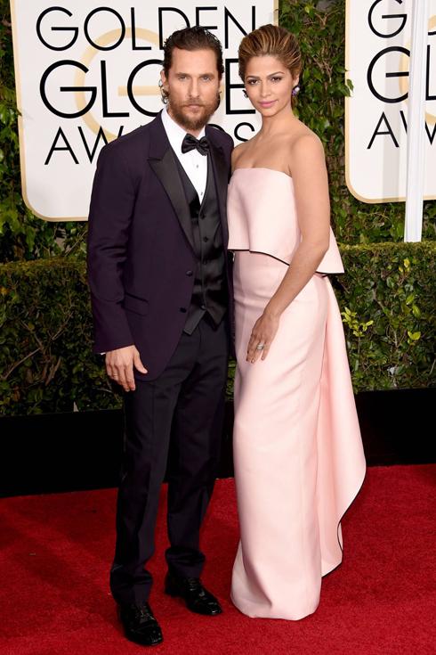 Vợ chồng diễn viên Matthew McConaughey và Camila Alves