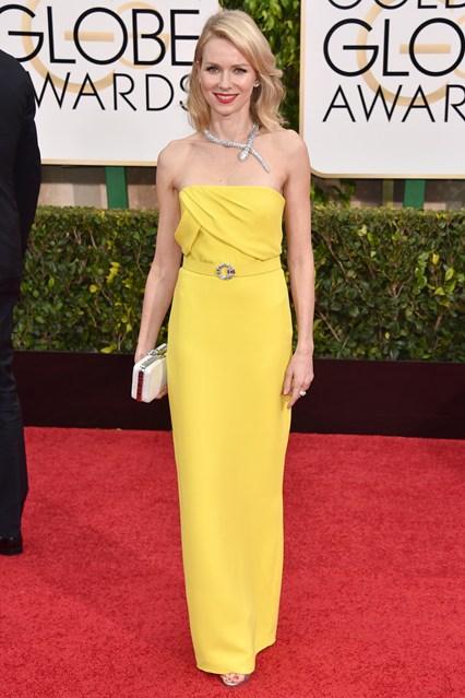 Naomi Watts mặc trang phục Gucci