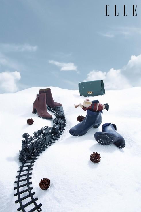 Hòa mình với những chuyến phiêu lưu thú vị trong không gian phủ đầy tuyết trắng cùng những món quà Giáng sinh độc đáo.<br/>Bốt mid-cut và clutch Ecco