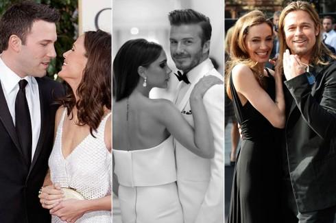 3 cặp đôi hạnh phúc của làng giải trí thế giới