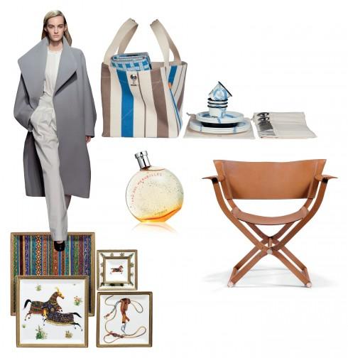 """Những sản phẩm chứa đựng cảm hứng từ những chuyến phiêu du, của phong cách sống """"Hermès""""."""