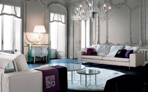 Thế giới nội thất sang trọng đặc trưng của Ý tại Fendi Casa.
