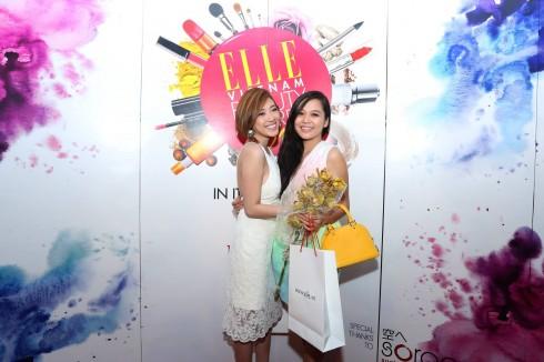 MC Yumi Dương cùng MC Minh Châu