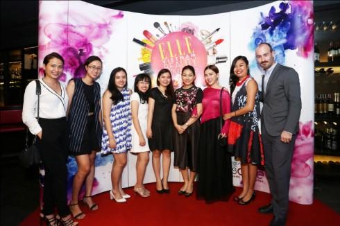 Ekip ELLE tổ chức sự kiện ELLE Beauty Awards 2014