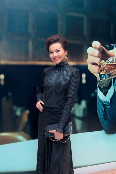 Diễn viên, người mẫu Thanh Hằng.