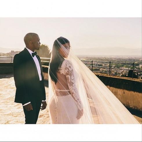 đám cưới của kim kardashian va kanye west