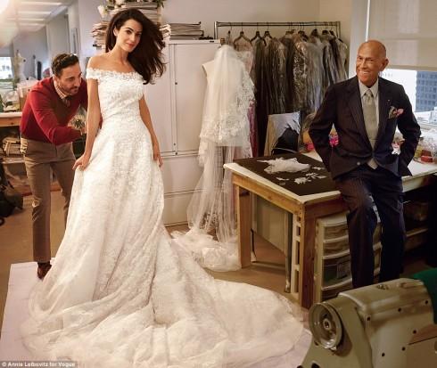 đám cưới của George Clooney & Amal Amuladin