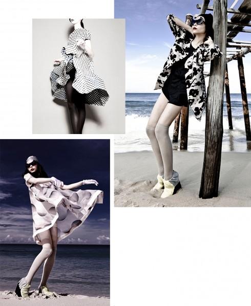 Một số mẫu thiết kế trong BST Resort 2013 của thương hiệu Nuchsuda