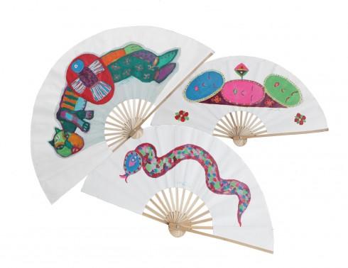 Tác phẩm hội họa trên quạt giấy Việt Nam