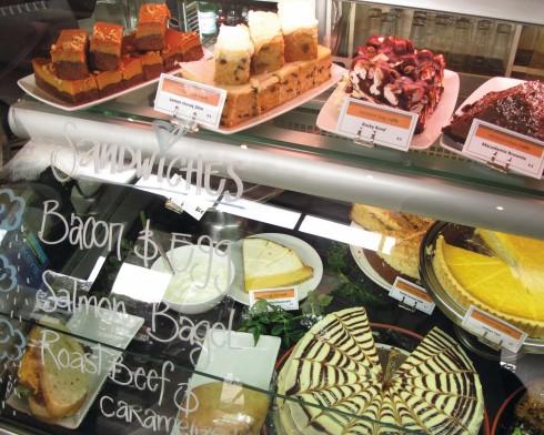 Một tiệm bánh tại New Zealand