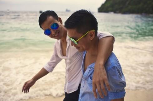 Cặp đôi Adrian Anh Tuấn - Sơn Đoàn