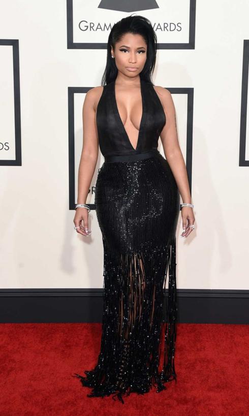Nicki Minaj trong trang phục Tom Ford