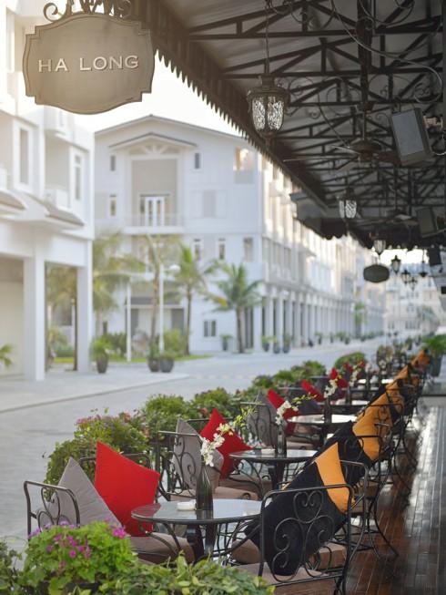 Paradise Suites Terrasse
