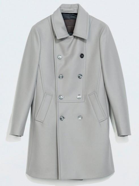 áo khoác mùa đông kiểu peacoat