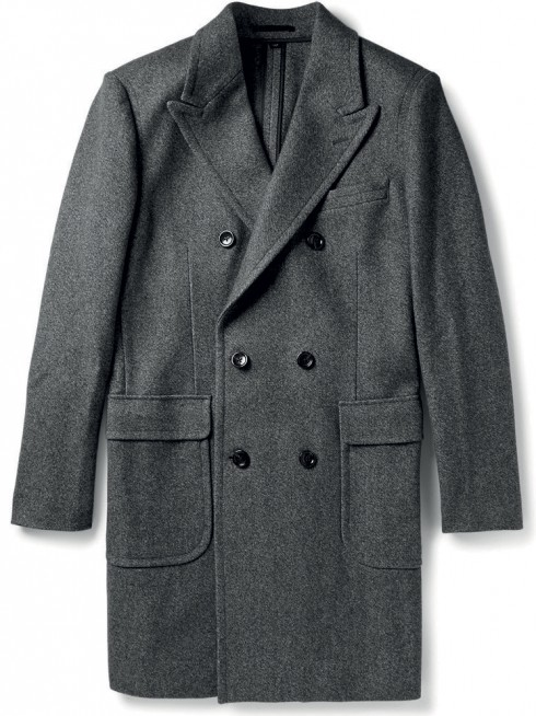 áo khoác mùa đông kiểu áo choàng sang trọng