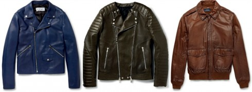 áo khoác mùa đông bằng da biker jacket