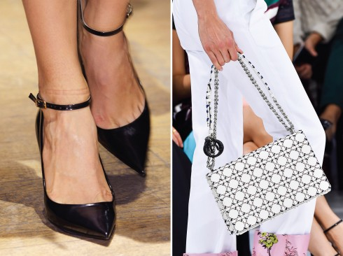 Từ trái qua: Lanvin, Dior