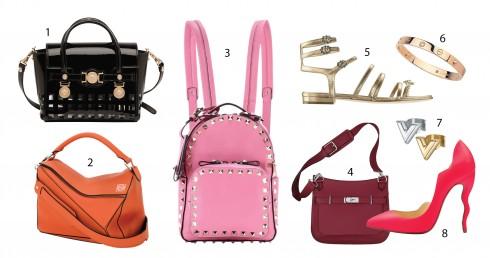 1.Versace 2.Loewe 3.Valentino 4.Hermès 5.Chanel 6.Cartier 7.Louis Vuitton 8.Christian Louboutin