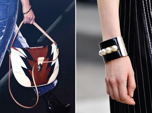 Từ trái qua: Louis Vuitton, Chanel