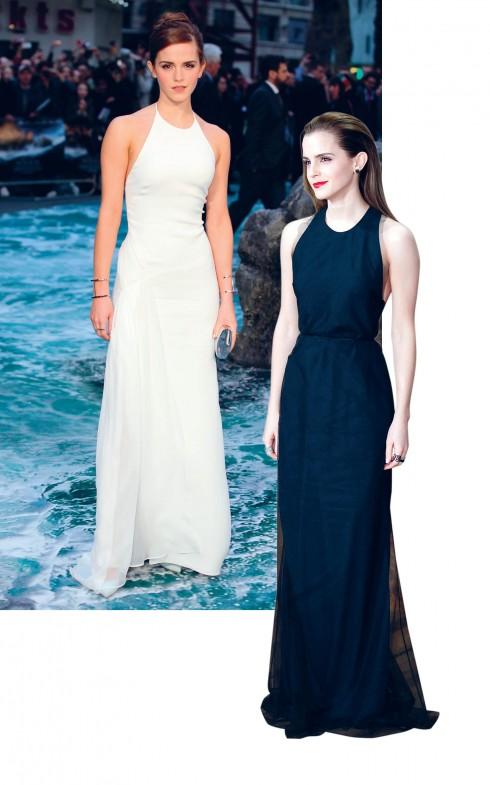 """<strong>Emma Watson</strong> <br><br>  Trong lĩnh vực thời trang, nữ diễn viên chỉ mới 24 tuổi thường xuyên có mặt tại các tuần lễ thời trang, được các NTK hàng đầu o bế, và là gương mặt ảnh bìa của rất nhiều tạp chí. Cô còn là gương mặt đại diện của thương hiệu làm đẹp lớn như Lancôme.  <br><br> Emma đã hai lần được trao tặng danh hiệu """"Biểu tượng thời trang của ELLE"""" và """"Diễn viên nữ xuất sắc của năm"""" của ELLE Style Awards."""