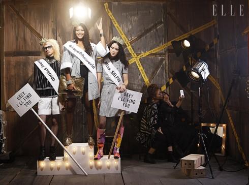 Irena: Áo top, quần, trang sức Chanel - Lâm Thu Hằng: Áo khoác Chanel, Áo lót La Perla, Giày, clutch, vòng tay Chanel - Tuyết Lan: Trang phục và phụ kiện Chanel, vương miệng Bao BB
