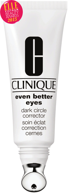 <strong>6. CINIQUE EVEN BETTER EYES DARK CIRCLE CORRECTOR</strong><br> Kem đều màu vùng mắt Even Better Eyes Dark Circle Corrector giúp làm sáng toàn bộ vùng da quanh mắt sau 12 tuần và bảo vệ giúp chống lại các tác hại của môi trường cũng như sự thất thoát nước, mang lại sự tươi trẻ cho gương mặt bạn. Bạn sẽ trông giống như vừa trải qua một giấc ngủ ngon. <br><em>Giá: 1.030.000 VNĐ</em>