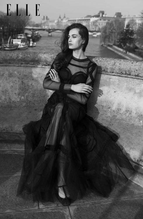 Đầm và giày ballet Dolce & Gabbana