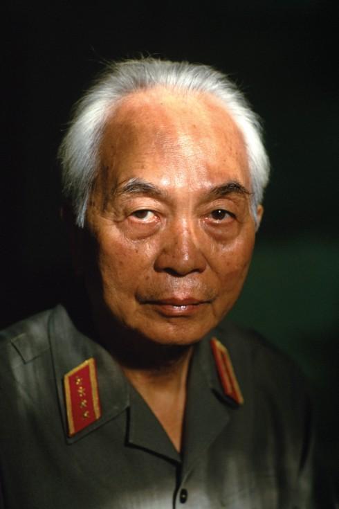 Tấm chân dung nổi tiếng của Đại tướng Võ Nguyên Giáp do Catherine chụp