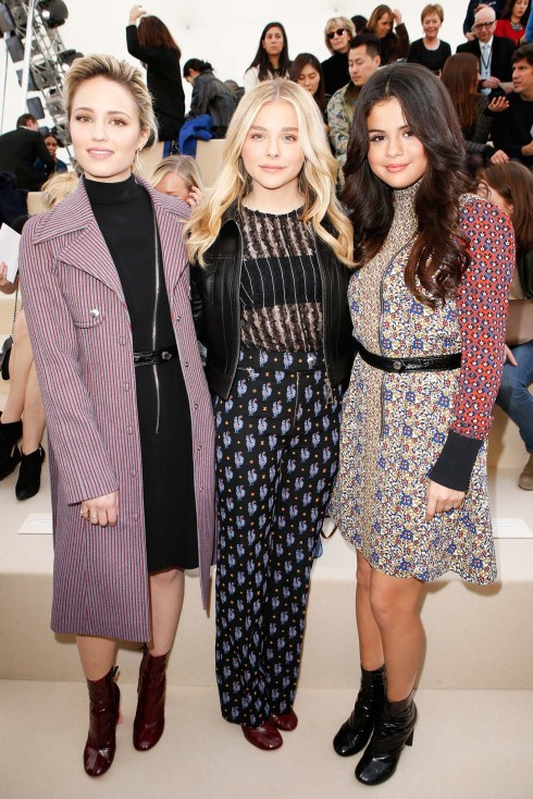3 nữ diễn viên trẻ Dianna Agron, Chloë Grace Moretz và Selena Gomez